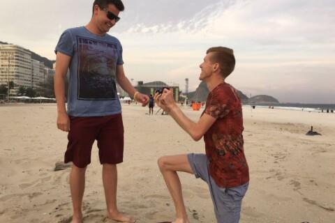 Rio 2016 : Tom Bosworth demande son chéri en mariage !