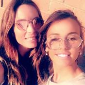 Vanessa Lawrens et sa ravissante soeur : Un joli duo très complice !