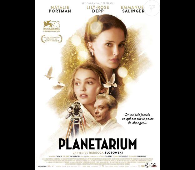 Affiche du film Planetarium en salles le 16 novembre 2016