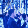 """Exclusif - Tournage du nouveau clip """" Je ne sais pas """" du chanteur Vincent Niclo au studio Euromédia Paris le 19 juillet 2016 © Coadic Guirec / Bestimage"""