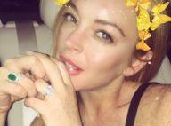 Lindsay Lohan porte toujours sa bague de fiançailles, un mois après le scandale