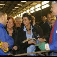 Rachida Dati visite une entreprise en difficulté en Avignon, le 21/11/08