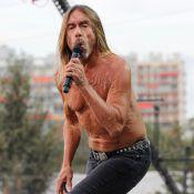 Rock en Seine 2016 : L'iguane Iggy Pop fait le show et envoûte Béatrice Dalle