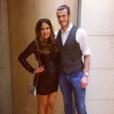 Gareth Bale et sa compagne Emma Rhys-Jones lors du Nouvel An 2016, photo Instagram. Le 16 juillet 2016, jour de son 27e anniversaire, il l'a demandée en mariage, et elle a dit oui !