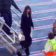 Selena Gomez arrive à l'aéroport de Sydney, Australie, le 8 août 2016.08/08/2016 - Sydney