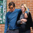 Exclusif - Candice Swanepoel enceinte se promène avec son fiancé Hermann Nicoli dans le quartier de Soho à New York, le 9 mai 2016