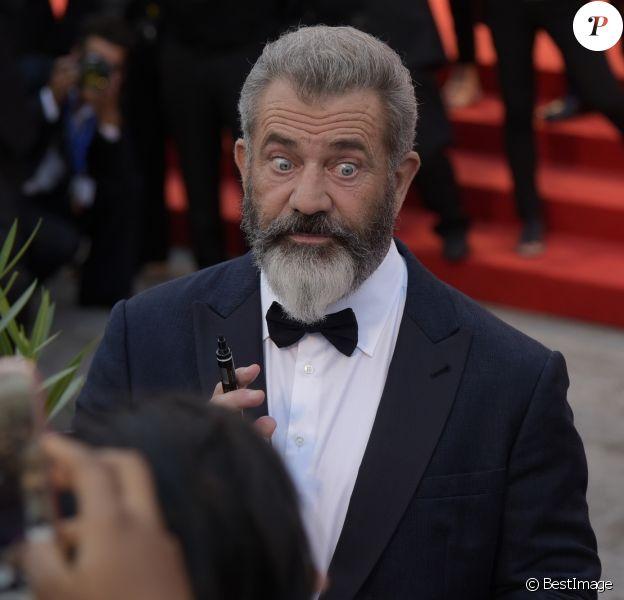 """Mel Gibson - Tapis rouge du film """"Tu ne tueras point"""" (""""Hacksaw Ridge"""") lors du 73ème Festival du Film de Venise, la Mostra, le 4 septembre 2016."""