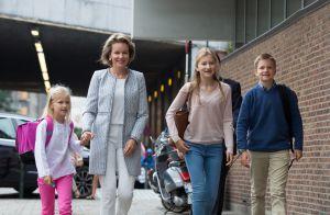 Mathilde de Belgique: Ses enfants font leur rentrée, la cour ouvre son Instagram