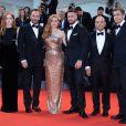 Ellie Bamber, Tom Ford, Amy Adams, Aaron Taylor-Johnson, Robert Salerno et Jake Gyllenhaal à la projection du film ''Nocturnal Animals'' lors du 73ème Festival du Film de Venise. Le 2 septembre 2016.