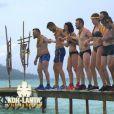 """Epreuve de confort - """"Koh-Lanta, L'île au trésor"""". Sur TF1. Le 9 septembre 2016."""
