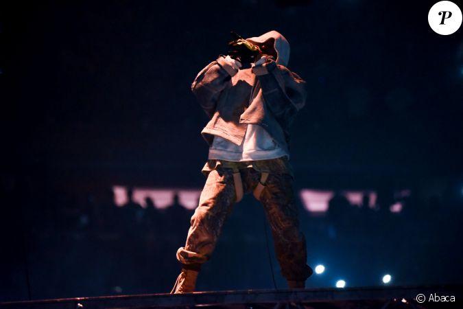 Kanye West En Concert Au Madison Square Garden New York