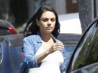 Mila Kunis : Très enceinte et sublime au naturel dans les rues de L.A.