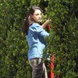 Mila Kunis très enceinte se balade dans les rues de Los Angeles, le 9 septembre 2016