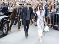 Fashion Week : Victoria Beckham, créatrice soutenue par sa famille