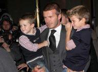REPORTAGE PHOTOS : David Beckham, mi- super papa mi-superman, vraiment irrésistible !