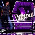 """Achille, Thomas et Robin dans """"The Voice Kids 3"""", le 24 septembre 2016."""