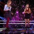 """Agathe, Noémy et Juliette dans """"The Voice Kids 3"""" le 24 septembre 2016 sur TF1."""