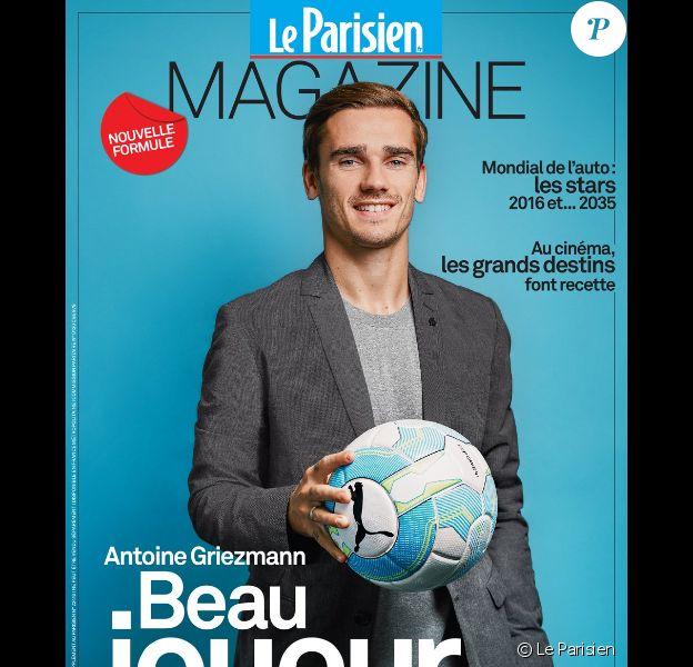Antoine Griezmann en couverture du Parisien Magazine du 23 septembre 2016.