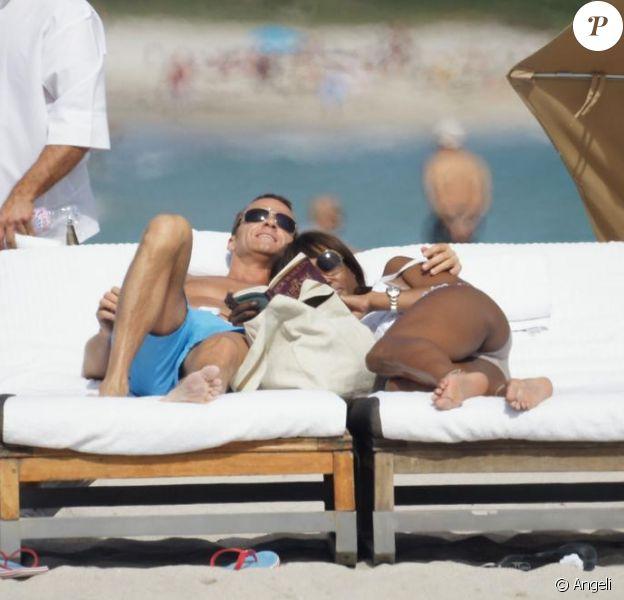 Naomi Campbell et Vladislav Doronin à Miami