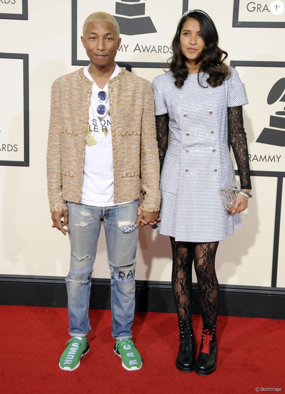 Pharrell Williams et sa femme Helen Lasichanh à La 58ème ...