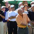 Arnold Palmer en novembre 2006 à Los Angeles lors du Golf Digest Celebrity Invitational au profit de la Prostate Cancer Foundation au Wilshire Country Club. © Tammie Arroyo / AFF-USA.COM/Abacapress