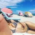 Photo de Katharine McPhee à Miami publiée le 23 septembre 2016.