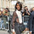 Liya Kebede - Défilé Lanvin (collection prêt-à-porter printemps-été 2017) à l'Hôtel de Ville. Paris, le 28 septembre 2016 © CVS-Veeren / Bestimage