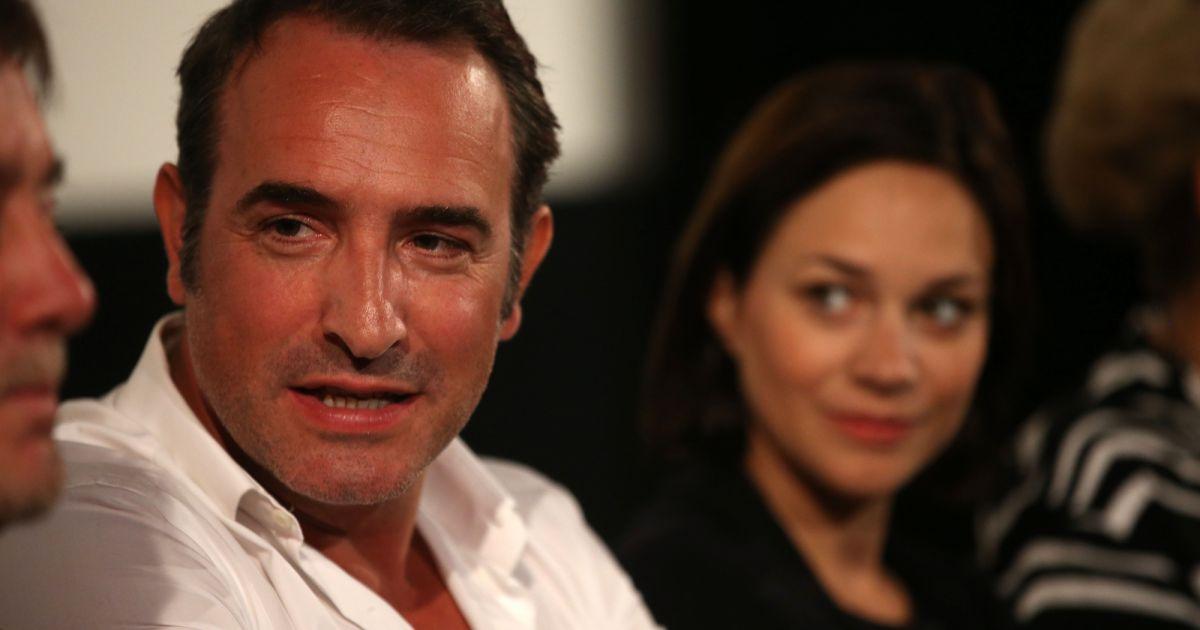 Jean dujardin et sa compagne nathalie p chalat jean for Famille dujardin