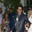 Jim Carrey quitte une soirée à Los Angeles le 17 septembre 2016.