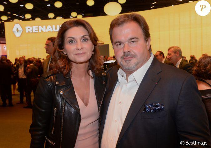 Pierre herm et sa femme val rie franceschi pr sentation - Christophe barbier et son epouse ...