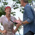 """Denis Brogniart - """"Koh-Lanta, L'île au trésor"""", sur TF1. Le 30 septembre 2016."""