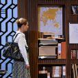 """Pascal Elbé et Barbara Schulz lors du filage de la pièce """"L'Éveil du chameau"""" au Théâtre de l'Atelier à Paris, le 30 septembre 2016. © Guirec Coadic/Bestimage"""
