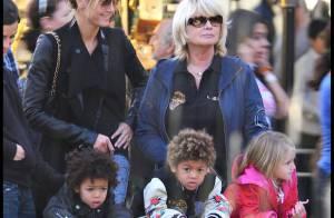 PHOTOS : Heidi Klum, balade enchantée avec ses trois adorables enfants et... sa maman !