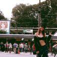 Photo de Bella Hadid à Tokyo. Octobre 2016.