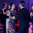La princesse Mary et le prince Frederik de Danemark ouvrant le bal lors d'une soirée de gala à Washington le 28 septembre 2016 au cours de leur mission économique aux Etats-Unis. © Instagram Kongehuset (Cour royale de Danemark)