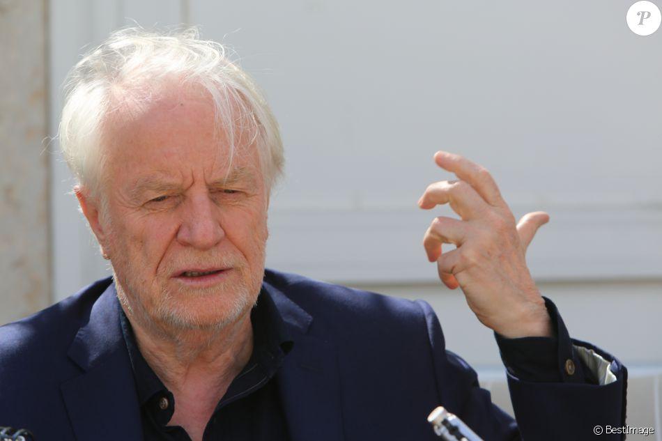 Exclusif - Rencontre avec André Dussollier lors du 68 ème Festival International du Film de Cannes le 22 mai 2015