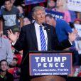 Donald Trump en meeting à Fort Lauderdale, le 10 août 2016.