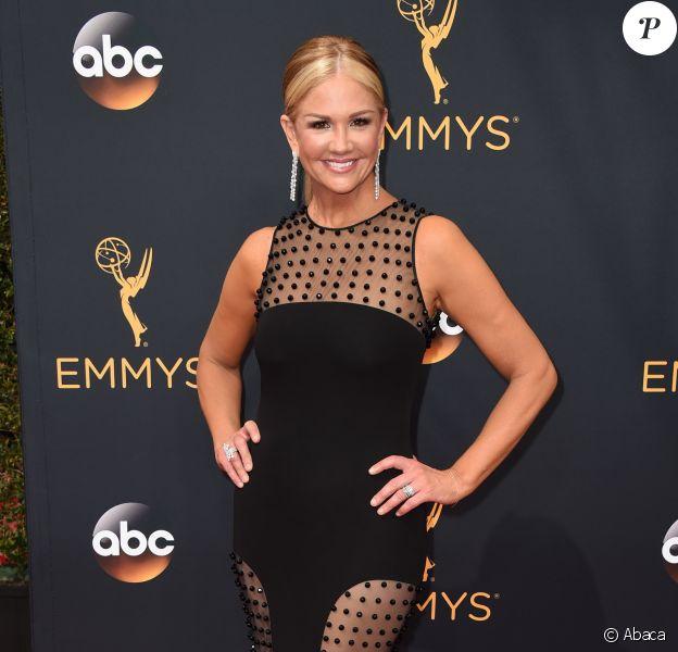 Nancy O'Dell aux 68e Primetime Emmy Awards à Los Angeles. Le 18 septembre 2016.