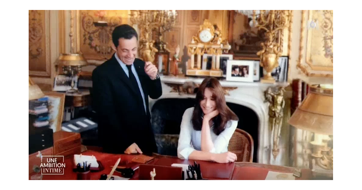 nicolas sarkozy et carla une ambition intime sur m6 le 9 octobre 2016. Black Bedroom Furniture Sets. Home Design Ideas