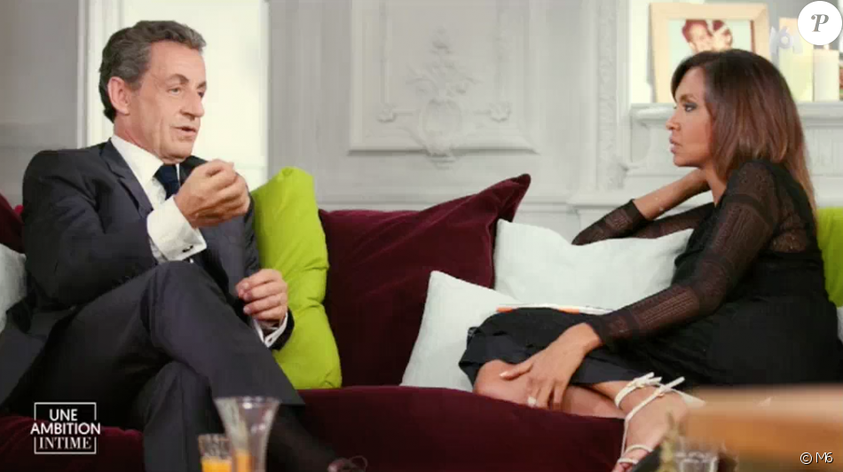 nicolas sarkozy et karine le marchand une ambition intime sur m6 le 9 octobre 2016. Black Bedroom Furniture Sets. Home Design Ideas