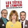 Elsa Zylberstein, Franck Dubosc, François-Xavier Demaison dans Les Têtes de l'Emploi.