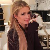 """Paris Hilton : La star présente sa petite """"puce d'amour"""" à 8000 dollars"""