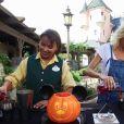 Hélène de Fougerolles et Nathalie Pedrosa dos Santos - Halloween à Disneyland Paris du 1er octobre au 2 novembre 2016.