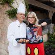Lola Dubini et le Chef Thierry Clément - Halloween à Disneyland Paris du 1er octobre au 2 novembre 2016.