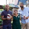 Eric et Ramzy et Nathalie Pedrosa dos Santos - Halloween à Disneyland Paris du 1er octobre au 2 novembre 2016.
