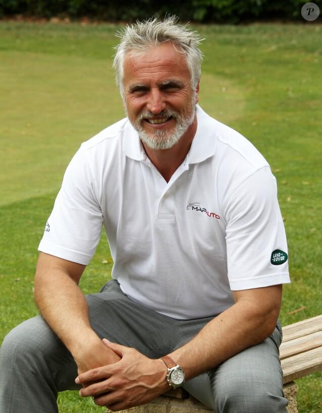 David Ginola lors de la 4e édition de la Mapauto Golf Cup au Golf Old course à Mandelieu-la-Napoule, le 12 juin 2015. Une compétition, qui rassemblent de nombreuses personnalités venues pour jouer au golf au profit d'une association, s'écoule sur 2 jours.