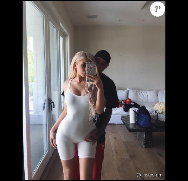 Kylie Jenner et Tyga (octobre 2016).