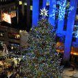 L'arbre de noël du Rockfeller center à New York