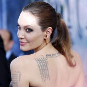 """Angelina Jolie, """"machine sans pitié"""" prête à effacer Brad Pitt et ses tatouages"""