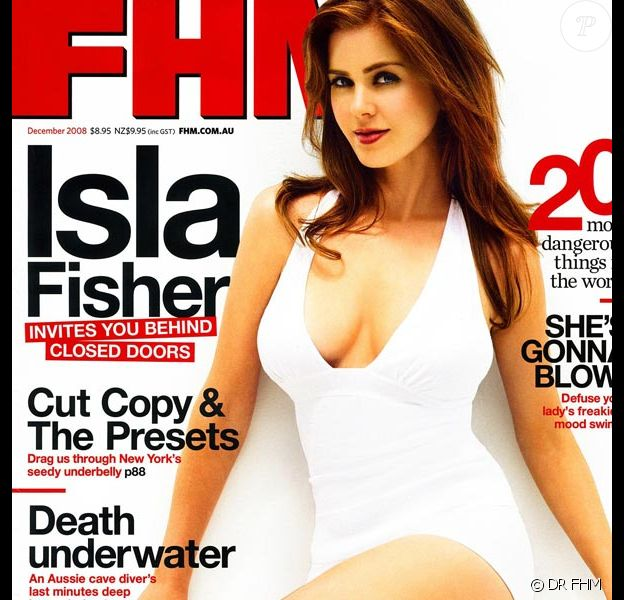 Isla Fisher pour FHM